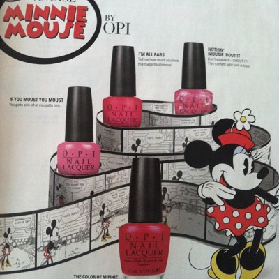 #opi #nailcolor #minniemouse (Taken with Instagram)