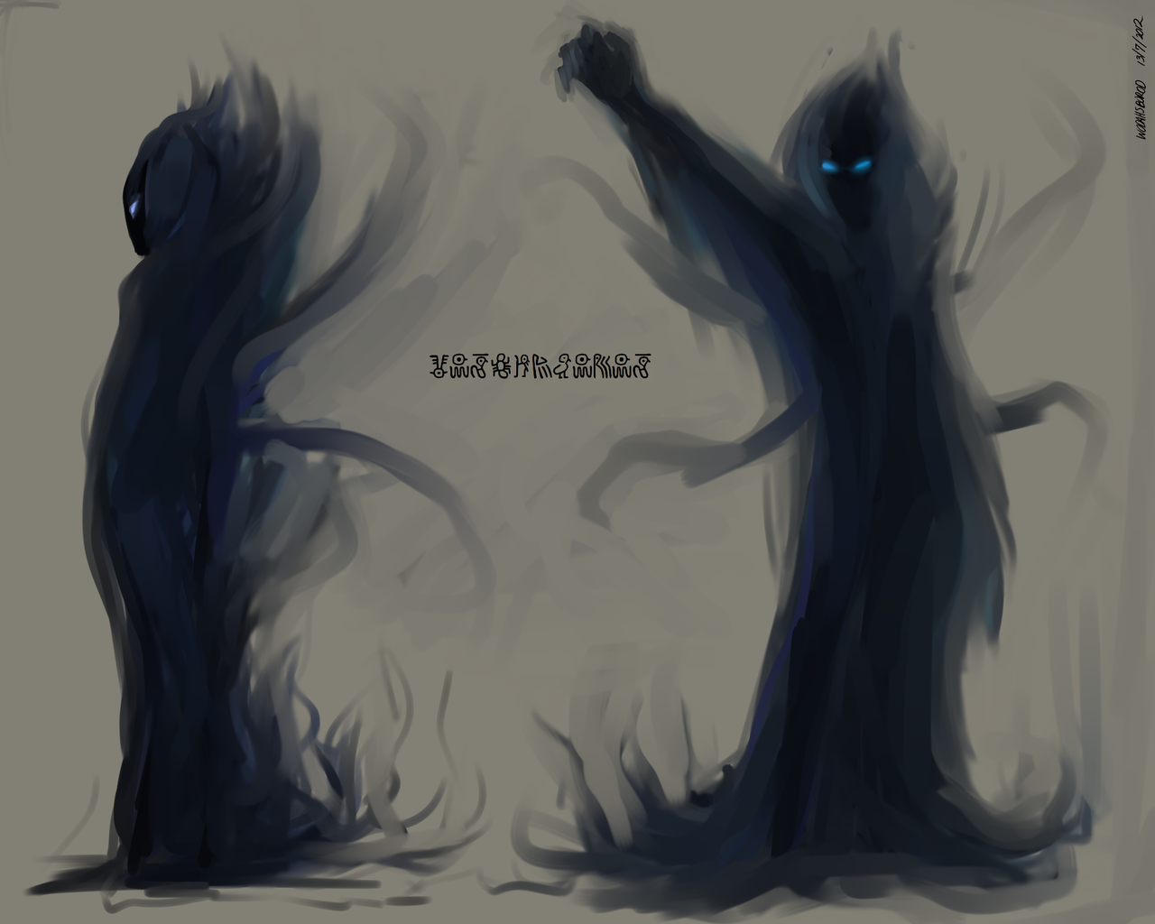 thistinglesmyinterest:  SETTORU: Wodahsborod Wodahsborod is a mysterious, dark entity that has spirited Settoru out of his old home, only to continue pursuing him. It is unknown what it wants with Settoru but it has been growing desperate lately with its attempts of capturing him.  Settoru is a fan project set 100+ years into the future of Shadow of the Colossus.