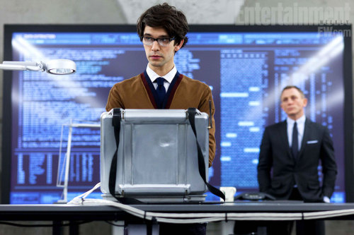 Ben Whishaw (Freddie Lyons in BBC AMERICA's The Hour) is set to star as Q in the latest Bond film Skyfall. The first photo has been revealed and we can't wait.