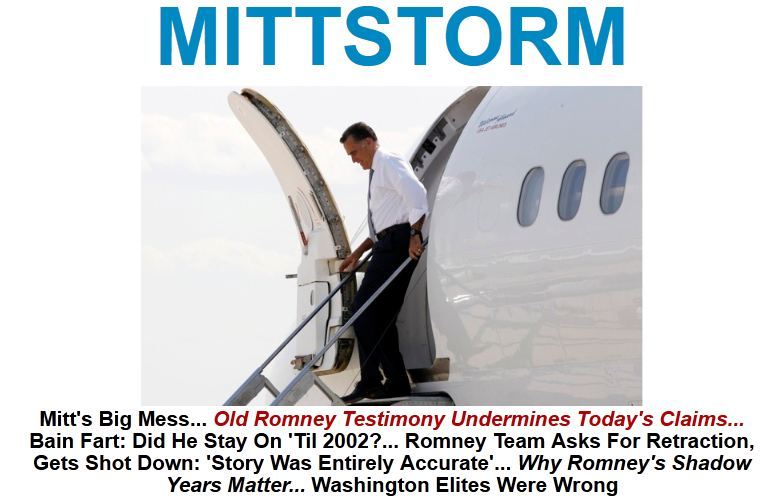 "Mitt Romney's Bain BullshitBrian Beutler discusseshow ""Romney wants full political inoculation from anything Bain did between…View Postshared via WordPress.com"