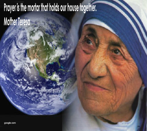 Friday's Quote From Mother TeresaView Postshared via WordPress.com