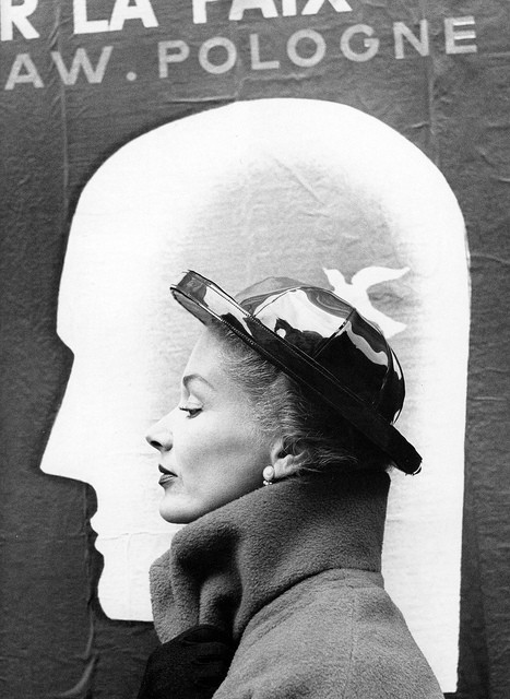 Richard Avedon for Harper's Bazaar, October 1948.