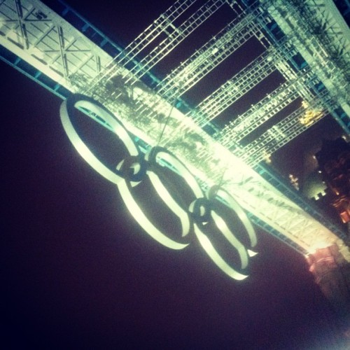 #TowerBridge #Olympics #London #commutehome (Taken with Instagram)