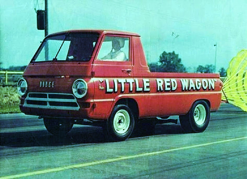 Early Little Red Wagon