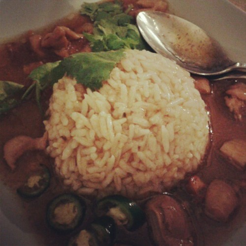 #Rice #chicken #food #meal #dinner #delicious #instargram  (Taken with Instagram)