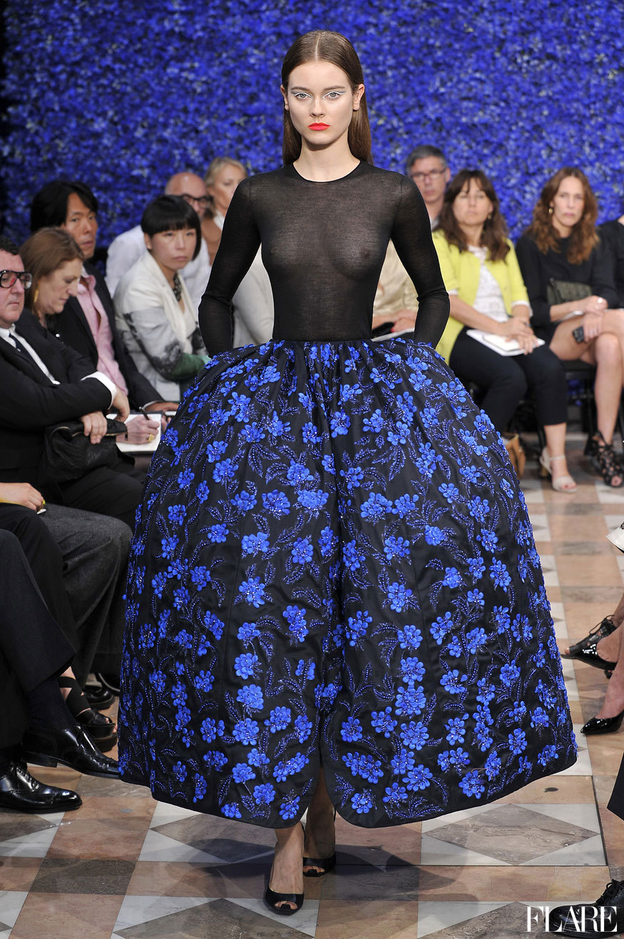 Christian Dior Haute Couture - Fall 2012 / Photographer: Anthea Simms Click here to see all the top Haute Couture collections from Paris.