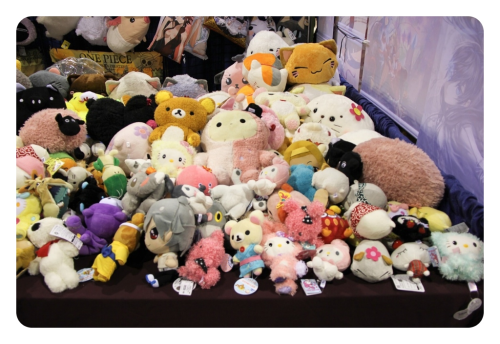 So many cute plushies.