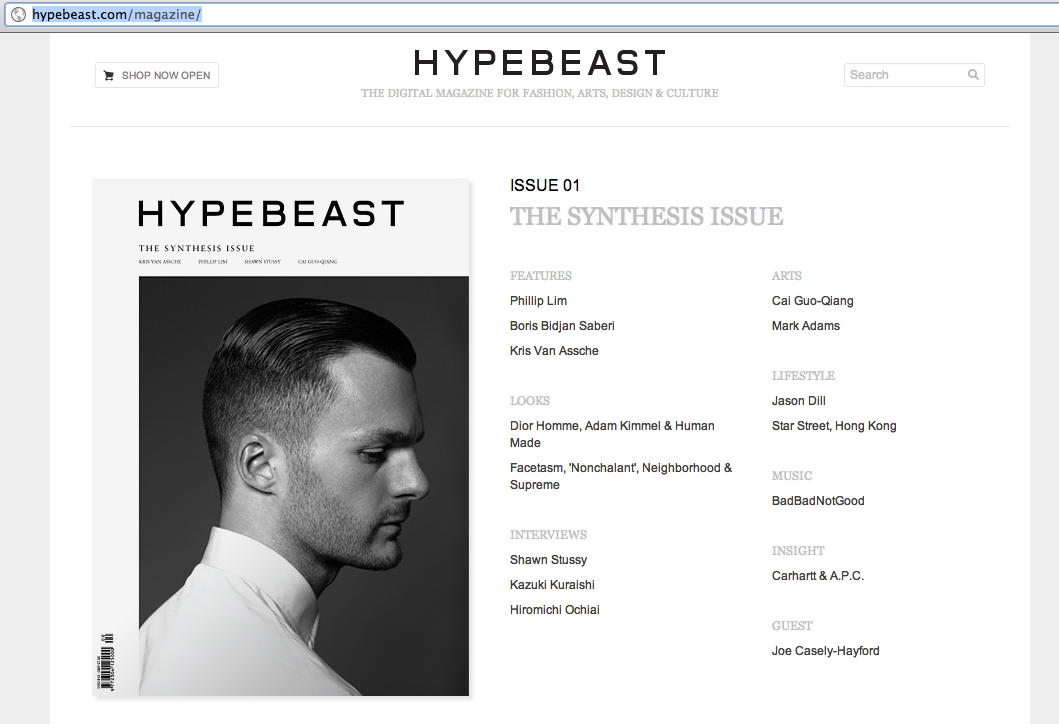 ALSO FUCKK WE'RE IN THE FIRST ISSUE OF THE NEW HYPEBEAST MAGAZINE!!!! GO COP THAT SHIT CAUSE HYPEBEAST IS TIGHT AS FUCK!!!!THANKS, BADBAD