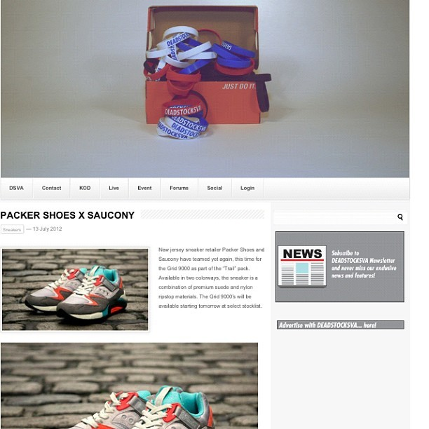 #rss deadstocksva.com for all the new updates #dope #fresh #basketball #sneakerhead #nt #jordans #retro #jordanhead #sneakers #niketalk #igsneakercommunity #shoegamefuckedup #showmeyourfeetheat #walklikeus #kicksoftheday #wdywt #todayskicks #nikeallday #smyfh  #whatsonyourfeet #sneakerporn #swag #s7 #jordan #retros #packershoes #saucony  (Taken with Instagram)