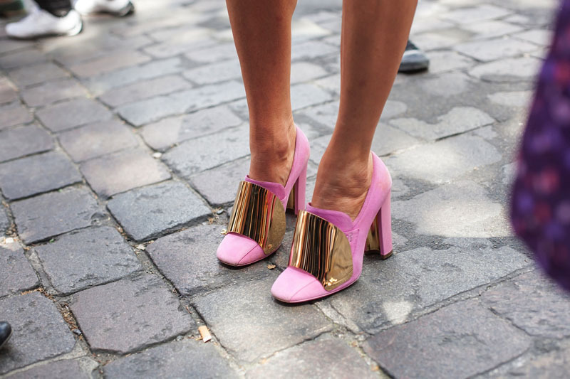 Anna Dello Russo does it right in these bad boys. Need them in my life.