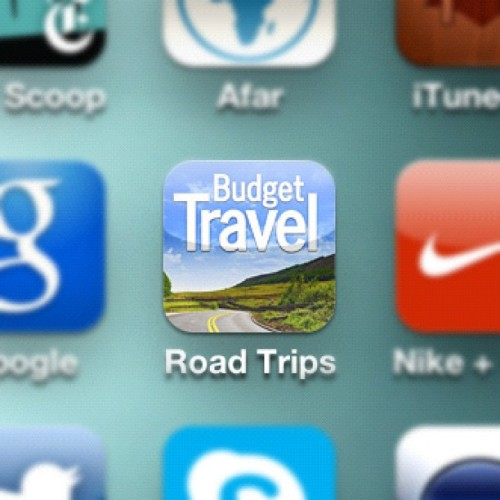 It's launched! #budgettravel #free #roadtrip #app (Taken with Instagram)