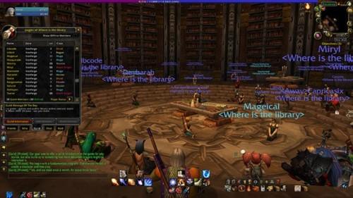 "Librarians & World of Warcraft:  ""Libraries, games, reading, content creation, stories and a few other things as well"" — that's how Forsyth's Twitter profile characterizes her interests, a fairly delectable concoction for the typical WoW Insider reader. We played the WoW card to tempt Forsyth into chatting with us about the regular academic symposia she moderates in Azeroth (the Ironforge library, to be exact), the growing influence of games as a public library resource, and the sweeping imaginative and technological vistas opening up as more and more readers discover the parallel worlds of gaming — and of course, World of Warcraft."