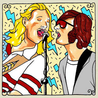 Diamond Rugs on Daytrotter this week. What could be better?