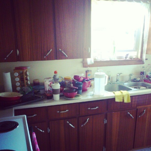 I'll be doing dishes FOREVER! (Taken with Instagram)