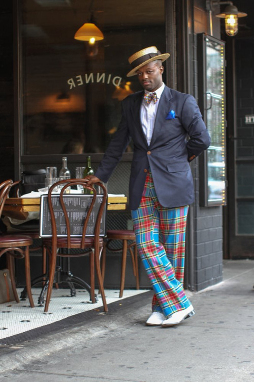 minorconviction:  humansofnewyork:  Appropriately, his name was Dandy Wellington.  Sharp dresser.