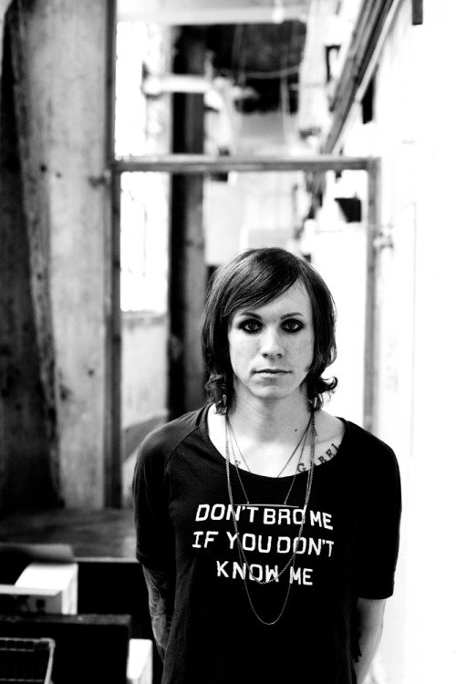 ryanrussell:  New Ryan Russell photograph: Laura Jane Grace of Against Me!