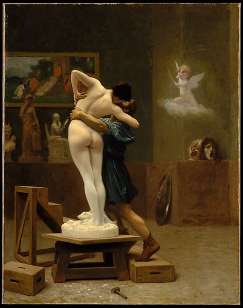 wasbella102:  Jean-Leon Gerome: Pygmalion and Galatea