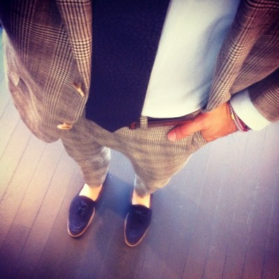 mrdanger:  casual friday. (Taken with Instagram at Suitsupply Chicago)