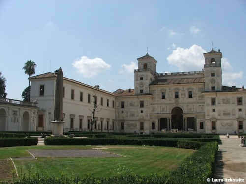 An Inside Look at Rome's Villa Medici http://bit.ly/N5NHOO