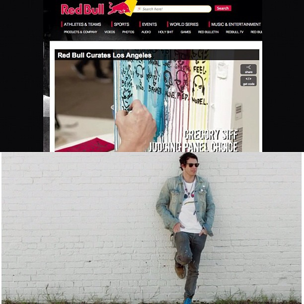 I'll be in Miami trick.  #ArtBasel2012 @redbulllax @redbull @tarynmanning @themuska thank u! #gregorysiff http://www.redbullusa.com/cs/Satellite/en_US/Video/Red-Bull-Curates-Los-Angeles-021243227997019  ABOUT THIS VIDEO Celebrating Los Angeles' most innovative contemporary artists as they turn their eye-catching designs into canvas-wrapped Red Bull coolers. Fans and a luminary panel of judges featuring Taryn Manning, Domingo Zapata and Jon Reiss voted 3 artists through to participate in a Red Bull Curates group exhibition this December in Miami during the Art Basel Season @redbullgaming  (Taken with Instagram)