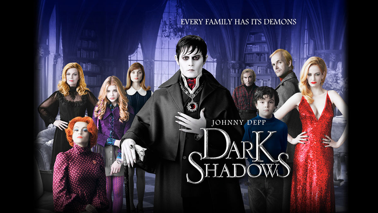 Dark Shadows (2012) - Directed by Tim Burton - Rating: 3/5 Tim Burton's Dark Shadows has some nice homages to early Avant-garde cinema and horror films like Nosferatu. However, that's not enough to save the film from falling flat with a meaningless story and uninteresting characters. Tweet