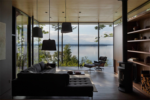 Case Inlet Residence by MW Works Architects - This is where I want to be