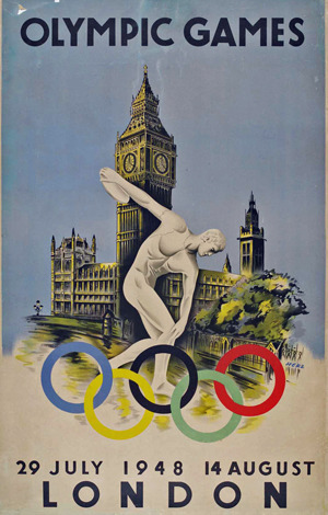 The last time London hosted the Olympics was in 1948.