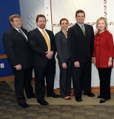 "MAG America met with Secretary of State Hilary Clinton in December 2011 to commence the ""To Walk the Earth in Safety"" where the US State Department pledged the United State's humanitarian commitment to rid the world of landmines that are threatening civilians to this day.  Secretary Clinton recently visited Laos and Cambodia, in which she nobly stated in her remarks,   ""I hope others in the international community will join us in our efforts to bring this legacy of the Vietnam War era to a safe end and give the people, particularly the children of this nation, the opportunity to live their lives safe from these unexploded bombs."" (via State Department)  This was the first time since 1955 a US Secretary of State has visited Laos, marking the trip an integral component for the hope of any US-Laotian future relationship."