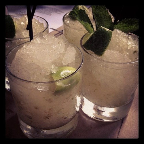 Moscow Mules #picaday #365 #day21 #drinks #madmen (Taken with Instagram at The Spotted Pig)