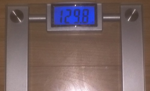 Today's Weight: 129.8 lbs.Total Lost: 7.8 lbs.120'S!!!!!!!! I FOUND YOU AGAIN!!!!!!!!! I'm never losing you again!