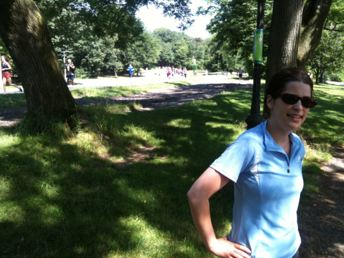 Forgot to say…  I went running in Prospect Park when I was in Brooklyn a couple of weeks back. What a lovely park… It was completely rammed with runners and you had to run on the same track and in the same direction, there's no freestyling in that park!   So in my trip to the US I managed to run in 4 different states, twice in big cities and a few times in the countryside.   It's torrential rain here in Berlin, this makes it very hard for me to run…