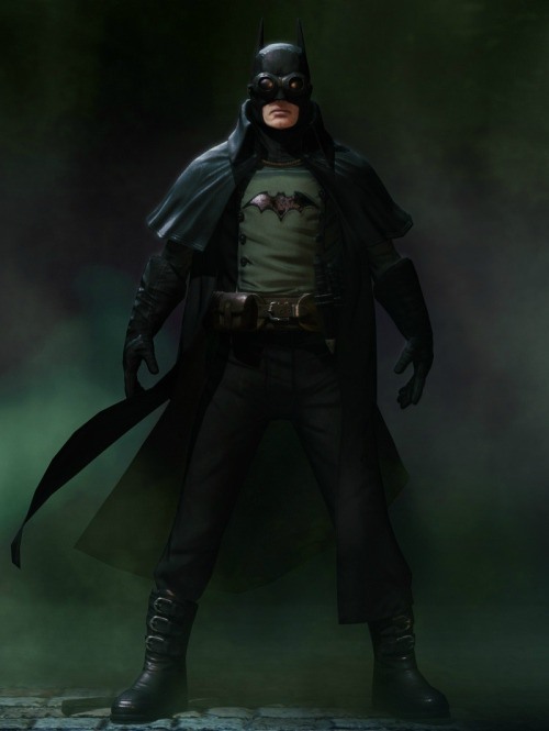 youngjusticer:  Inspired by Gotham by Gaslight. Steampunk Batman, by Marc Tan.