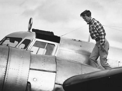 A fascinating slide show exploring what happened to Amelia Earhart in 1937:  As the search for Amelia Earhart's plane probes the waters off Nikumaroro, a tiny uninhabited island in the southwestern Pacific republic of Kiribati, a new paper has reconstructed what may have happened to the legendary aviator 75 years ago.  Read more…