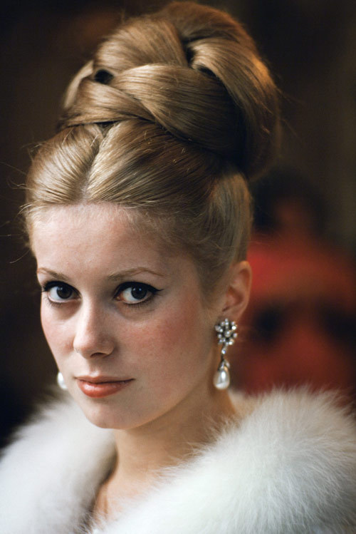CATHERINE DENEUVE, what better Parisian beauty to spend Bastille Day with, non?