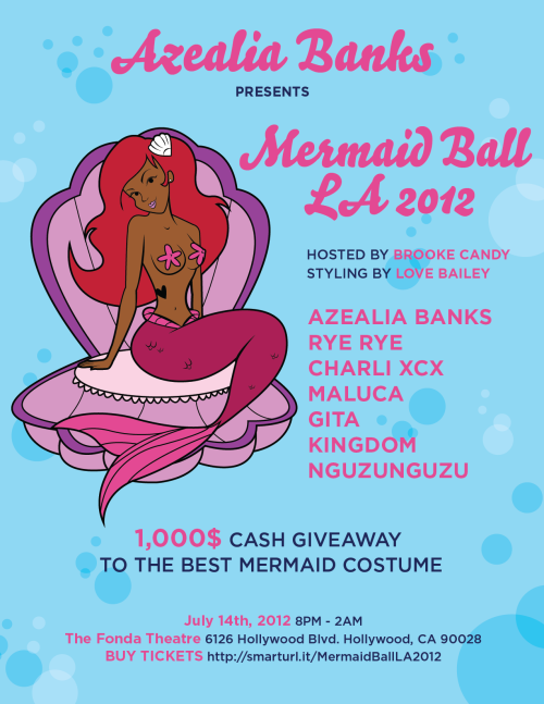 UPDATED FLYER!: #MERMAIDBALLLA2012 !!