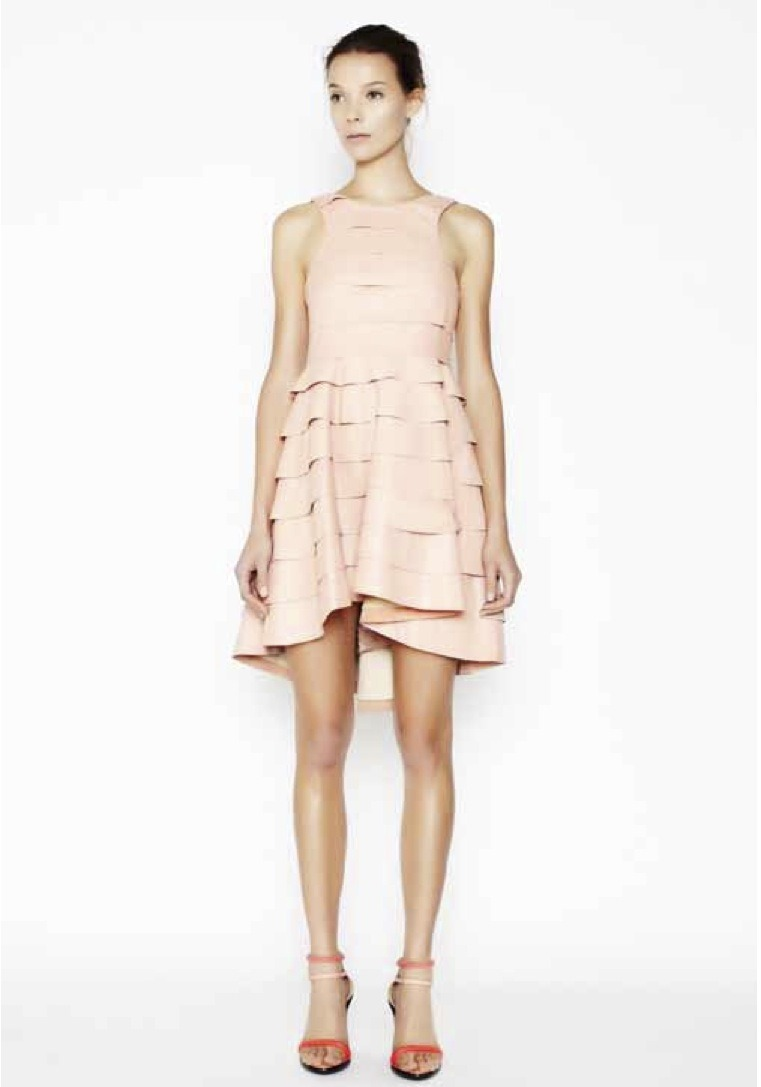 glamour:  A dreamy dress from the Camilla and Marc resort collection.