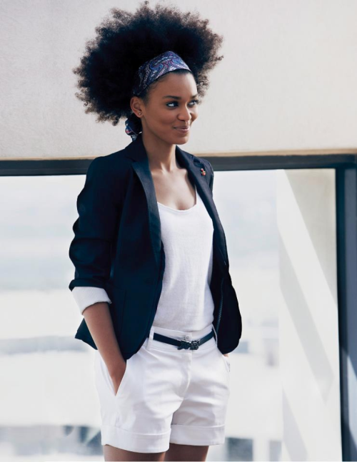 natural-queen-of-coarse:  b-sama:  Pearl Thusi . Destiny Magazine, South Africa.