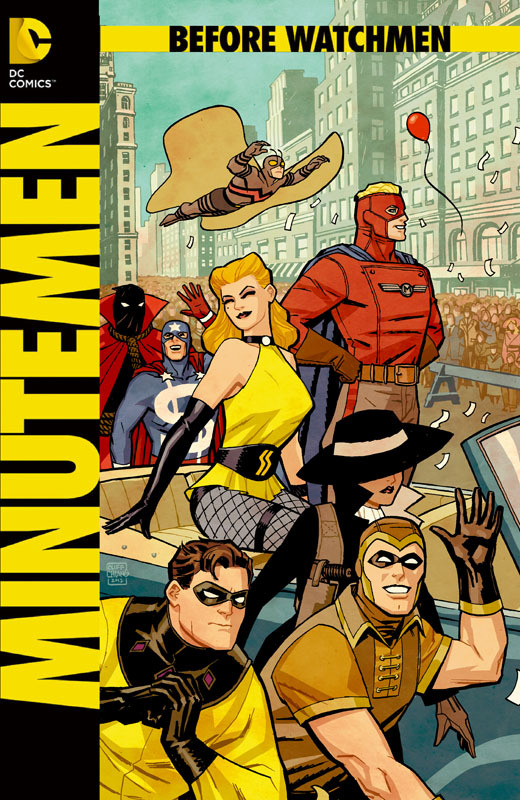 BEFORE WATCHMEN: MINUTEMEN #3 by Cliff Chiang
