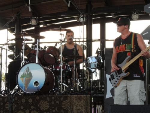 thatcrazygame:  Rebelution opening for O.A.R. @The Lawn at White River State Park, Indianapolis