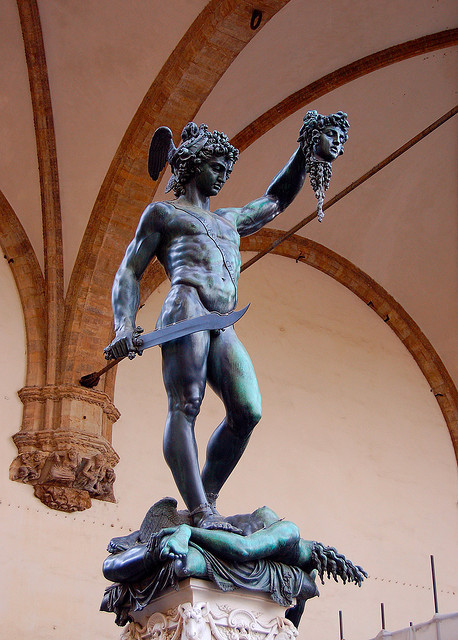 deuxequis:  Perseus With the Head of Medusa by Peace Correspondent