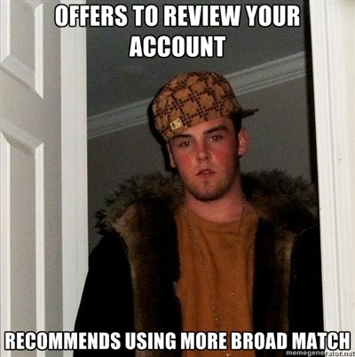 Scumbag Google Rep - our last from @Justin_Freid