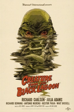 Creature from the Black Lagoon (1954) - Francesco Francavilla