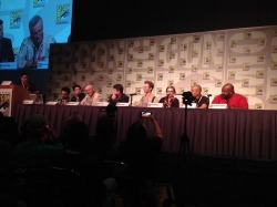 THe #NickTurtles panel at #SDCC has begun! Booyakasha!