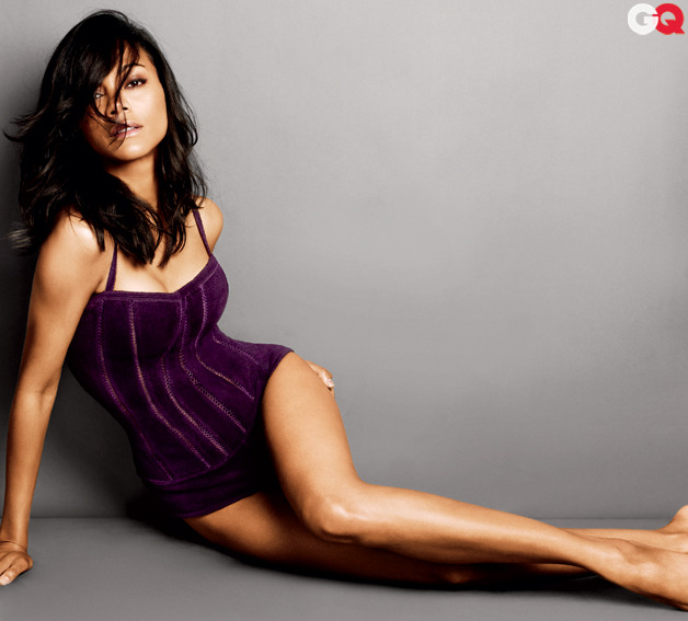 gq:  GQ's Sexiest Women of 2012 (So Far) Zoe Saldana.