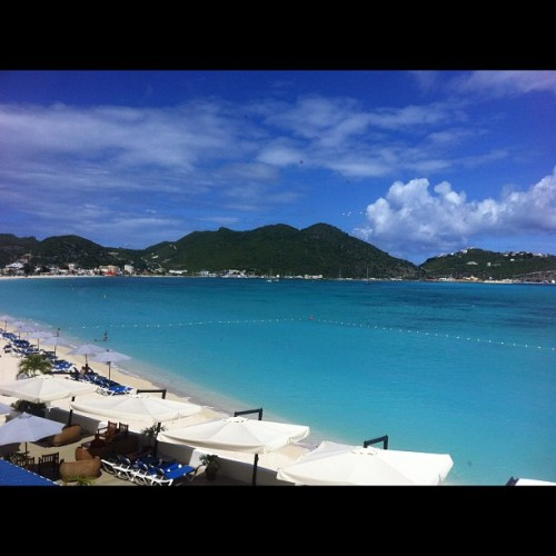 Another beautiful day in paradise aka st Maarten (Taken with Instagram)