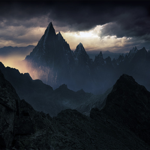 neptunesbounty:  Ask The Mountains by ~Karezoid