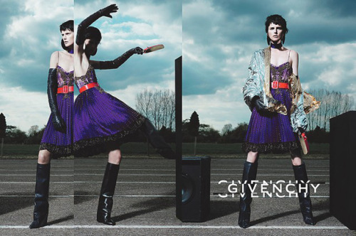 Fashion Ads Givenchy Autumn/Winter 2012 campaign.
