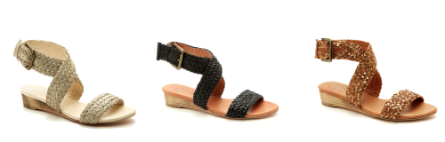 "J. Litvack York Sandals - $29.99, Ideeli (originally $169) If you love rope wedges, but not their 4"" heels, try a flat version. All the style, none of the potential danger of falling on your face! (Well, unless you're me. Those who know me know that I wipe-out even in flats)."
