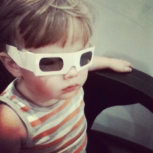""" I like 3D Daddy"" (Taken with Instagram)"