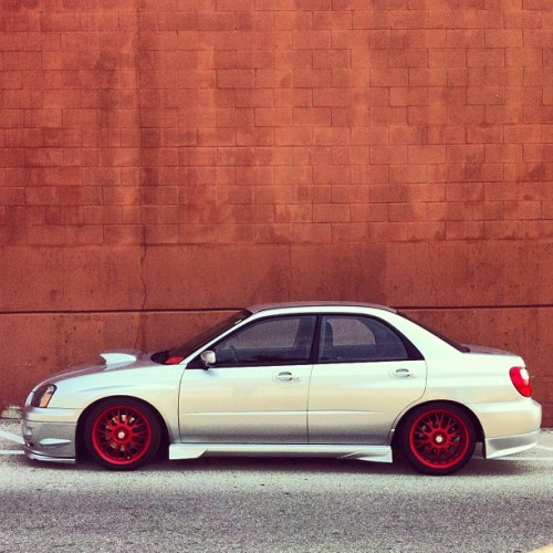 #nasioc #wrx #subaru #trpcrew #brightassredwheels (Taken with Instagram)